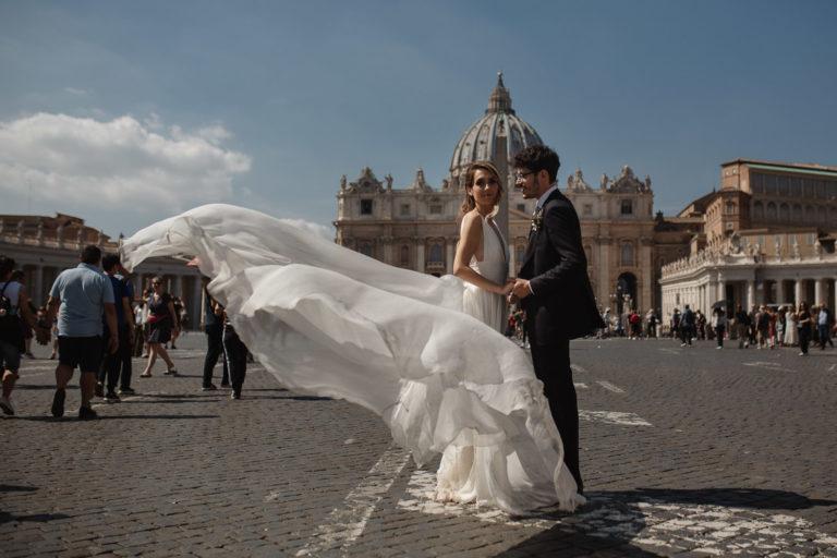 Fotografo di matrimonio in italia Roma e Antiche Scuderie Odescalchi