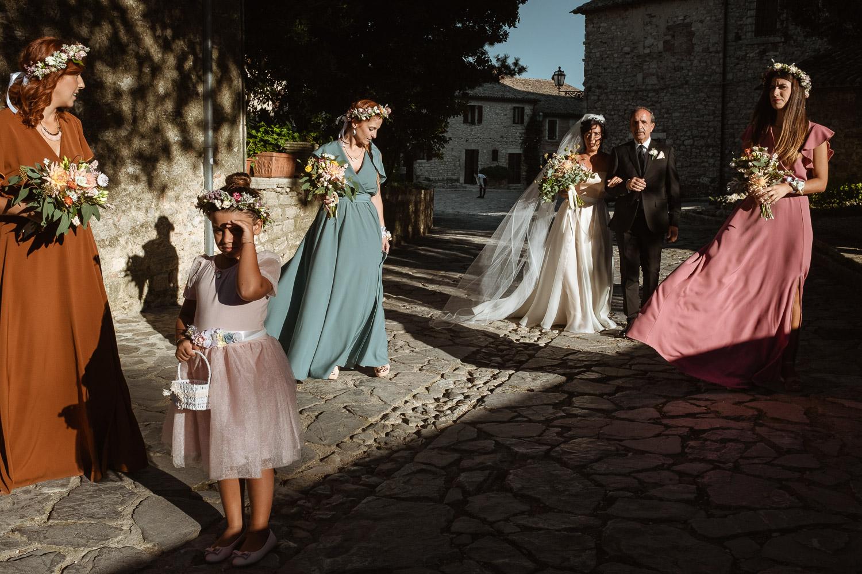 Fotografo video-maker Castello Titignano Orvieto Umbria